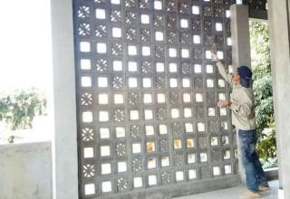 Thi công gạch thông gió 3d tại Đà Nẵng