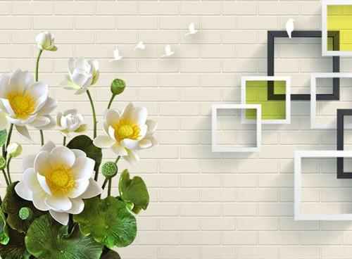 Gạch ốp tường 3D tại Bình Định